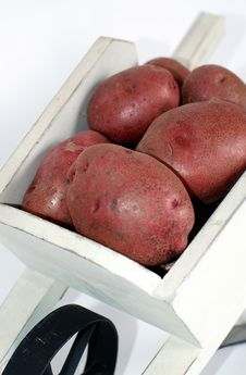Free Red Potatoes Stock Image - 4611391