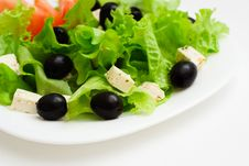 Vegetarian Salad. Stock Photo