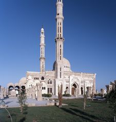 Free Minaret In Egypt Royalty Free Stock Photography - 4611877