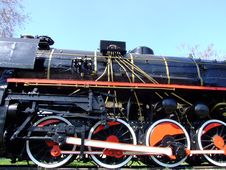 Free Steam Locomotive Royalty Free Stock Photography - 4612217