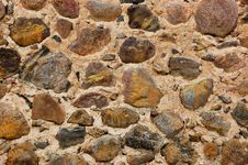 Abstract Stone Wall Stock Image