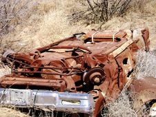 Free Old Rusted Car Stock Photos - 4613223