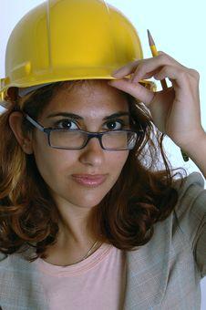 Free Female Architect Stock Image - 4613641