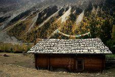 Free A Tibetan Country House Royalty Free Stock Photo - 4614345