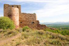 Old Spanish Castle Stock Image