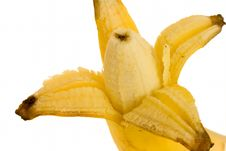 Free Opened Banana Royalty Free Stock Photography - 4615397