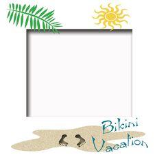Free Bikini Vacation Royalty Free Stock Photos - 4615438