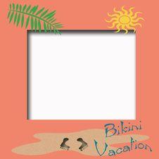 Free Bikini Vacation Stock Image - 4615441