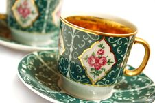 Free Porcelain Cups Royalty Free Stock Image - 4615626
