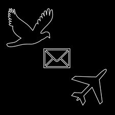 Free Air Mail Royalty Free Stock Photography - 4615797
