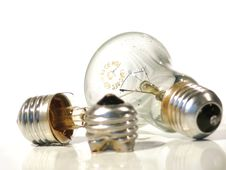 Free The Burned-out Light Bulb. Lamp. Stock Images - 4617764