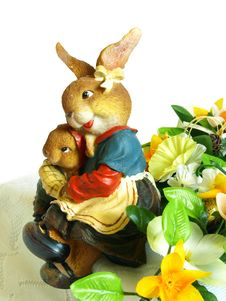 Free Easter Bunnies Royalty Free Stock Photos - 4618198