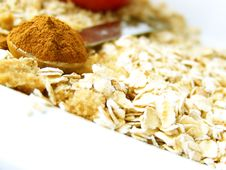Cinnamon In Measuring Spoon Stock Photo