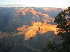 Free Grand Canyon Sunset Royalty Free Stock Photo - 4618785
