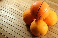 Free Basketball Royalty Free Stock Photo - 4619445