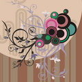 Free Abstract Floral Design Royalty Free Stock Photos - 4620818