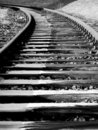 Free Track In Winter (black & White) Stock Photos - 4627223