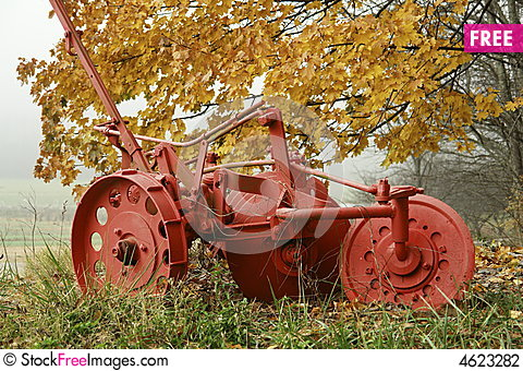 Free Old Plow Stock Photography - 4623282