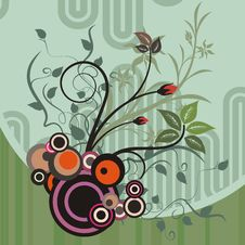 Free Abstract Floral Design Stock Photos - 4620833