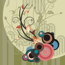 Free Abstract Floral Design Stock Photo - 4620850