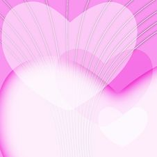 Free Pink Valentines Day Background Royalty Free Stock Photography - 4620877