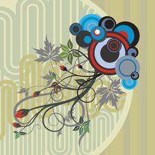 Free Abstract Floral Design Stock Photos - 4620923