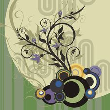 Free Abstract Floral Design Royalty Free Stock Image - 4620966