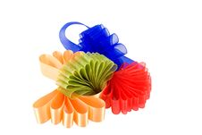 Free Four Colored Ribbons Bow Stock Photos - 4620973