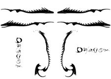 Free Tattoo With Dragon Stock Images - 4621234