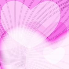 Free Pink Valentines Day Background Royalty Free Stock Photo - 4621285