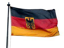 Free German Flag Royalty Free Stock Photos - 4622238