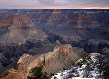 Free Fading Light South Rim Royalty Free Stock Photography - 4622777