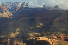 Free Canyon Light And Shadow Stock Photography - 4622822