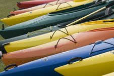 Free Rainbow Kayaks Stock Photo - 4623370