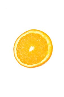 Free Slice Of Orange. Royalty Free Stock Photos - 4623498