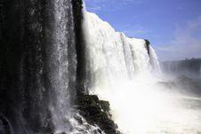 Free Iguassu (Iguazu; Iguaçu) Falls - Large Waterfalls Stock Photo - 4623580
