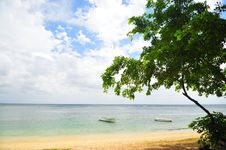 Summer Holiday At Mauritius Royalty Free Stock Photography