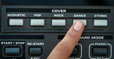 Free Synthesizer Royalty Free Stock Photo - 4624895