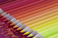Many Colorful Pencils Royalty Free Stock Photography