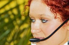 Free Call Centre Royalty Free Stock Photo - 4626465