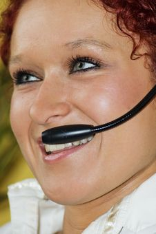 Free Call Centre Royalty Free Stock Image - 4626476