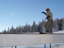 Free Snowboarder Stock Images - 4626584