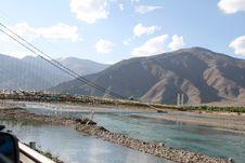 Free Bridge Outside Lhasa Royalty Free Stock Photo - 4626825