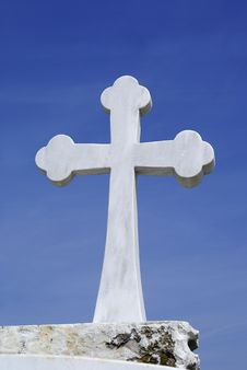 Free Cross With White Marble Royalty Free Stock Images - 4626989