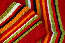 Free Bright Cap And Scarf Stock Photography - 4627062