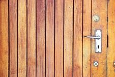 Free Weathered Timber Door Stock Photos - 4627083