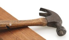 Free Vintage Hammer And Board Royalty Free Stock Image - 4628066