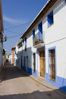Spanish Street Royalty Free Stock Photo