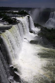 Free Iguassu (Iguazu; Iguaçu) Falls - Large Waterfalls Stock Images - 4628774