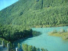 Free Lake In Xing Jiang07 Royalty Free Stock Images - 4629149